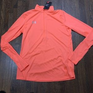 Under Armour Locker 1/2 Zip  Locker Orange S M